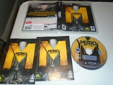Metro: Last Light (Sony PlayStation 3, 2013)