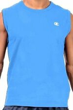 Champion Authentic Athletic Apparel  Men's Muscle $18 Tees- Blue XL