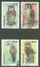 Zimbabwe 1999 Local Owls--Attractive Bird Topical (820-23) fine used