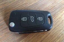 Kia Rio Picanto Ceed Sportage Sorento Cerato 3 button remote flip key OKA-185T