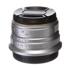 7artisans 25mm F/1.8 Manual Focus MF Prime Lens For Fuji mount X-E1 X-E2 XT20