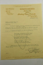 1929 Lamson Goodnow Geo T Johnson Co Boston MA Sanitary Paper Ltr Ephemera L955H