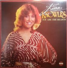KAREN KNOWLES LP RECORD YOU ARE THE REASON 1981