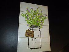 """""""Gardening Herbs"""" Decorative Plaque, Kitchen Decor, New"""