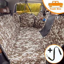 Ibuddy Dog Seat Cover For Trucks With Mesh Window 100% Waterproof Pet Seat Cover