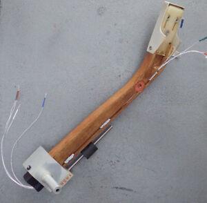 GRADO LAB SERIES Upgraded Wood Tonearm Silver Litz Wire Gold Terminals Mod Nest