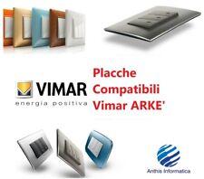 Placche COMPATIBILE VIMAR ARKE' 2 3 4 7 POSTI