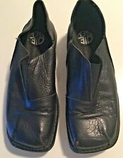 DIESEL BLACK CASUAL SLIP ONS LEATHER - Size 12 M - EUC