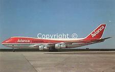 Avianca Colombia Boeing 747-124 HK-2000 c/n 19734  Postcard