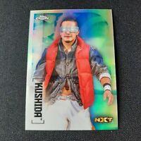 2020 Topps Chrome WWE SP Silver Refractor Kushida NXT #84