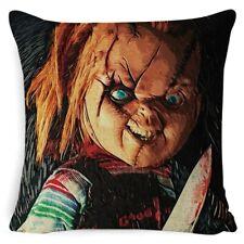 Chucky Horror movie printed pillowcase decoration pillow case cover;  45x45cm..