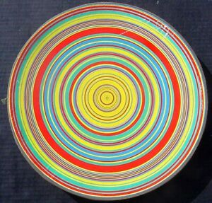 1968 Springbok 500 pc Round Puzzle WHIRLING DISCS Tadasky PZL6017 Complete VGC