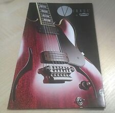 Vox Virage Guitar Brochure / Poster 2008