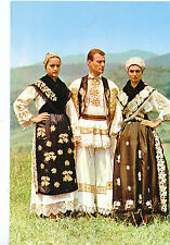 Fashion  & Dress Postcard - National Costume, Vinkovci District, Croatia  AB2207