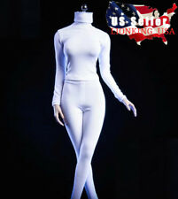 """1/6 Slim Turtleneck Stretch Suit Tights For 12"""" PHICEN Hot Toys Figure ❶USA❶"""