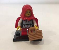 LEGO minifigura serie 7 NONNA visitatore/Little Red Riding Hood * Completo *