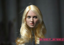 1/6 Emily Browning Sucker Punch Head Sculpt For Hot Toys Phicen SHIP FROM USA