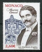 Monaco 2019 MNH Maurice Renaud Opera Singers 1v Set Music Famous People Stamps