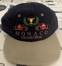 VTG 90s FORMULA 1 RACING MONACO GRAND PRIX ADJUSTABLE HAT NEW!!!