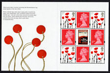 2018 MACHINS + POPPIES PANE from Great War 2018 PSB DY26 Mint