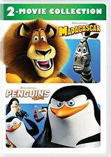 Madagascar/Penguins Of Madagascar: 2-Movie Collection [New DVD] 2 Pack