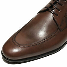 New HUGO BOSS Brown PRADOT Oxford Leather Dress Shoes 10 43 Mens Fashion Casual