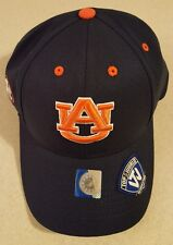 NCAA AUBURN TIGERS Adult Hat SEC Navy ADJUSTABLE Top of the World ONE SIZE 23517