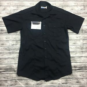 Blauer Dark Navy Classact  8421 Short Sleeve Shirt Size 15-15.5 M