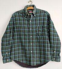 45RPM forty five RPM studio by R NMD 90's green plaid thick shirt medium sz 2