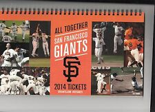2014 SAN FRANCISCO GIANTS SEASON TICKET BOOK STUBS LINCECUM NO HITTER SET