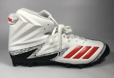 6b3e53e70b7c Miami Hurricanes Adidas SM Freak X Carbon High Football Cleats 13.5 NIB  CG5000