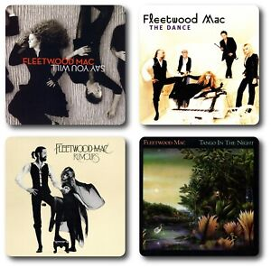 Fleetwood Mac 4 Piece Coaster Set