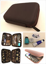 China Airlines First Class HARD CASE Amenity Kit NEW Moroccanoil/Institut Karite