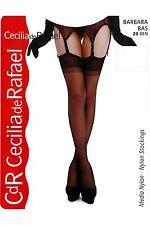 Cecilia de Rafael BARBARA Sheer Silky Stockings Nylons Hosiery 20 Denier