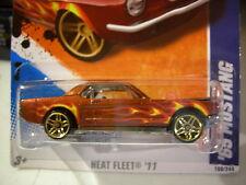 Hot Wheels '65 Mustang Heat Fleet Brown