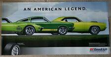 BF Goodrich Tires Poster - Original Cuda, G.T. 350, and Stingray - Original 2005