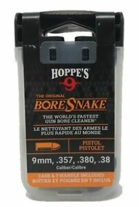 Hoppe's 24002D Boresnake.357-38, and 9mm Calibers