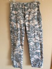 Boys 27x26 Army Camo Outdoor Hunting Camping Long Military Cargo Casual Pants