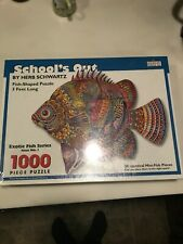 School's Out Spilsbury Fish-Shaped jigsaw puzzle. BRAND NEW