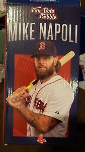 Mike Napoli Boston Red Sox Bobblehead 2015 Fan Vote MLB Bobble Victory Pose