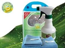 Nano Windscreen/Visor/Glass Hydrophobic Cleaner & Cleaning Cloth Set