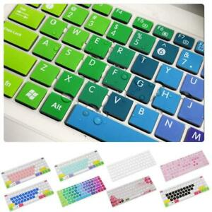 Rainbow Keyboard Cover Skin Case Silicone For Hp Pavilion 14Inch Laptop O5Q0