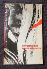 1972 WATCHWORDS by Roger McGough VG- Cape Poetry 56 pgs