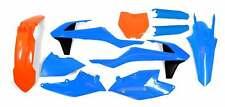 New Plastic Kit Orange & Blue KTM SX SXF 125 150 250 350 450 16 17 18 Plastics