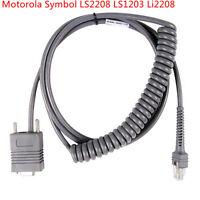 Rj45 RS232 Motorola Symbol LS2208 LS1203 Li2208 Barcode scanner Coiled Cable