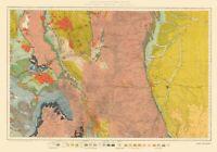 Topo Map - Colorado North Central Economic - USGS 1881 - 23.00 x 32.96