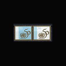 Kazakhstan, Sc #123-24, MNH, 1995, UN 50th Anniversary, 6GID