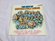 New listing VARIOUS - THE BEST OF BRITISH FOLK - UK VINYL LP / Compilation
