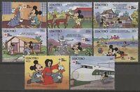 Walt Disney, Philanippon - Lesotho - 876-883 ** MNH 1991