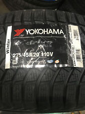 1 New 275 45 20 Yokohama W.drive Snow Tire